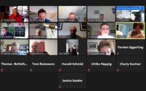 Typische Sitzungen in 2020 - Zoomcalls
